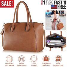 Women Handbag Shoulder Bags Tote Purse PU Leather Messenger Hobo Bag Satchel