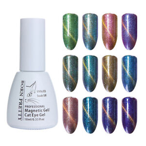 10ml-BORN-PRETTY-Chameleon-Cat-Eye-Nail-UV-Gel-Polish-Soak-Off-LED-Varnish