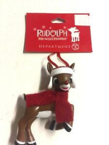 New-Limited-Classic-Rudolph-Red-Nosed-Reindeer-Miniature-Ornament-Rudolph-Santa