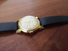 Vintage Antique Men's USSR Soviet 1956 Watch Rodina Gold-Plated AU 20 Mechanical