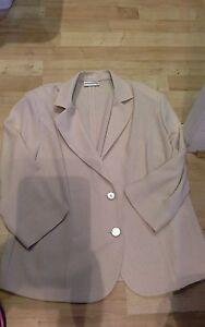 Refc31-jacket-sommermann-40-size-14-uk-goldy-cream-colour