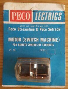 Peco Lectrics Peco Streamline & Peco Setrack Motor(remote Switch Machine)pl-10