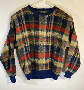 VTG-90s-COOGI-Style-Pullover-Vintage-Croft-And-Barrow-Herren-grosse-Bill-Cosby-Biggie