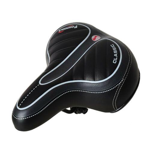 Comfort Wide Big Bum Bike Bicycle Gel Cushion Extra Sporty Soft Pad Saddle Seat