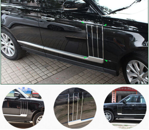 Car Side Fender Vents Air Intake Grille fit for Range Rover Full Size 13-16Black