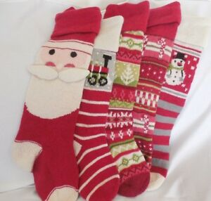 Pottery-Barn-Classic-Fair-Isle-Stocking-Collection-Never-Monogrammed-NEW