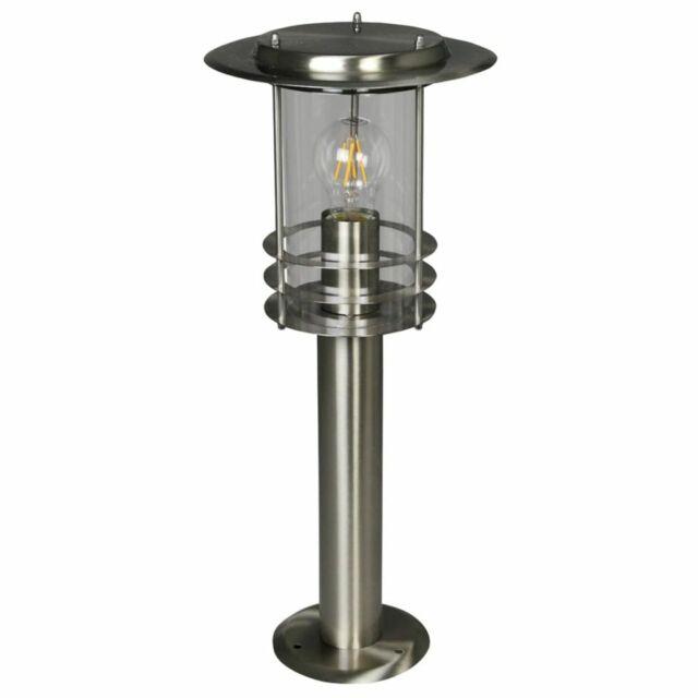Luxform Lampe d'Extérieur Applique de Jardin Terrasse Phoenix Argenté LUX1707S
