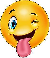 Smileys flirten
