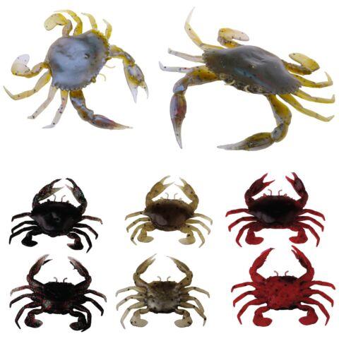 SAVAGE GEAR 3D Manic Crab Krabbe Krebs Größe /& Farbe wählbar