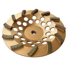 7 Concrete Grinding Cup Wheels 12 Diamond Abrasive Seg 58 11 Arbor