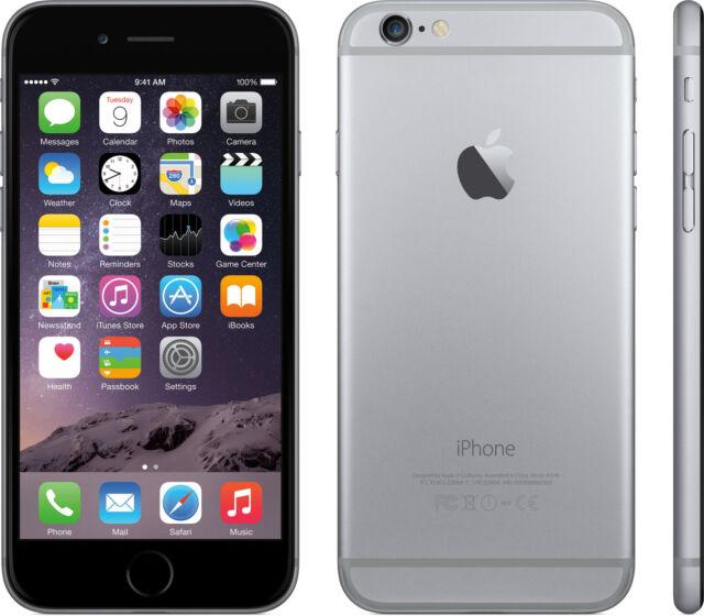 NEW SPACE GRAY VERIZON GSM UNLOCKED 64GB APPLE IPHONE 6 PLUS PHONE JH31 B