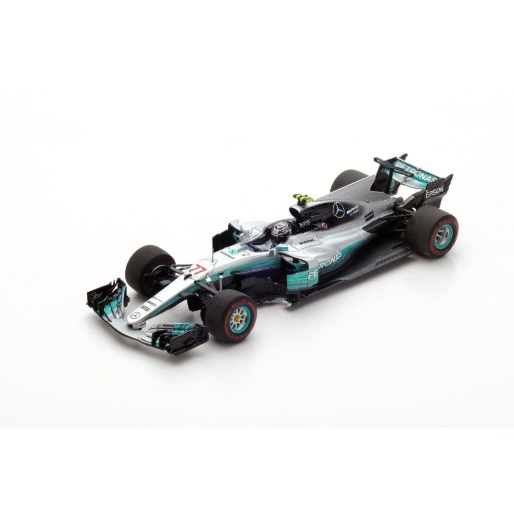SPARK MERCEDES AMG F1 W08  77 Winner Russian GP 2017 Valtteri Bottas S5031 1 43