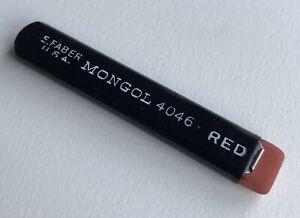 Vintage-Eberhard-Faber-Mongol-Red-Mechanical-Pencil-Lead-Blackwing-Clamp-Eraser