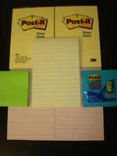 Lot Of 4 Post It Note Pads 3 78 X 5 78 Skilcraft 3x3 Super Sticky Pads