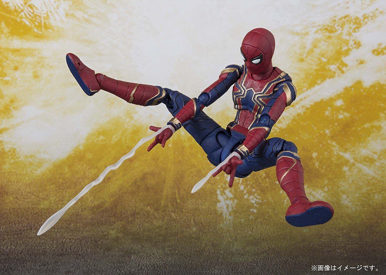 S.H.Figuarts Avengers Infinity Infinity Infinity War Thanos & Iron Spider & Iron Man Mark 50 3 set b8f4e6