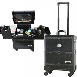 Image Is Loading Portable Makeup Station Artist Train Case Professional On