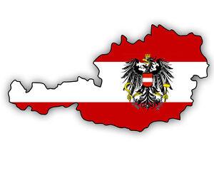 Auto-Aufkleber-OSTERREICH-Austria-Decal-Sticker-11cm-4-3-034-konturg-die-cut
