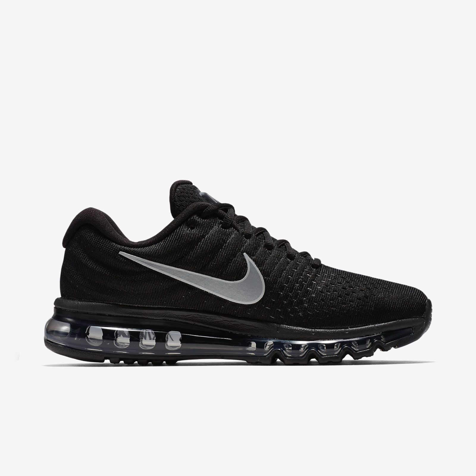 Nike Air Max 2017 Mens Running Training Black White