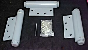 Single-Action-Spring-Hinges-Ultra-Hardware-6-034-x-4-5-034-with-Screws-Set-of-3-S5193