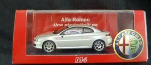 Alfa-Romeo-GT-1900-JTDM-7072-M4-Black-Line-Silber-1-43-Neuw-OVP-A973