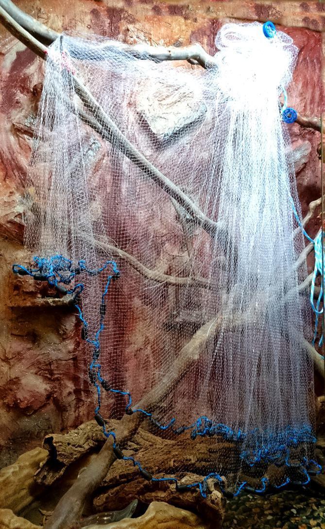 No. 4, mole netting 3,66 mmultifilaHommest 210 D, angel network. nouveau Professional Mole Net. Top Price