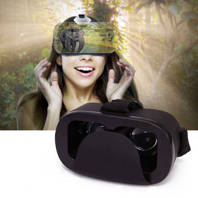 Google Cardboard 3D Glasses VR Box Headset Virtual Reality For Samsung iPhone