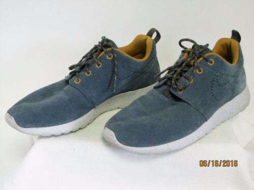 Nike 6 Suede Gold o Rosherun Tenis 616747 5 Ladies Army Tama Blue Euc 400 Rd6qFwR