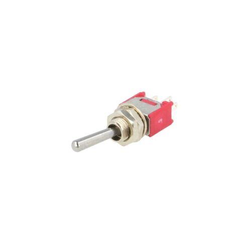 Salecom S04S interruttore ON-ON subminiatura a levetta SPDT pin a saldare