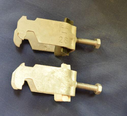 2 Stück BBS-Bügelschelle 22-28mm verschiedene Sorten (siehe Bild) (14)