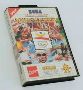 Olympic Gold , Complete With Manual , Sega Master System