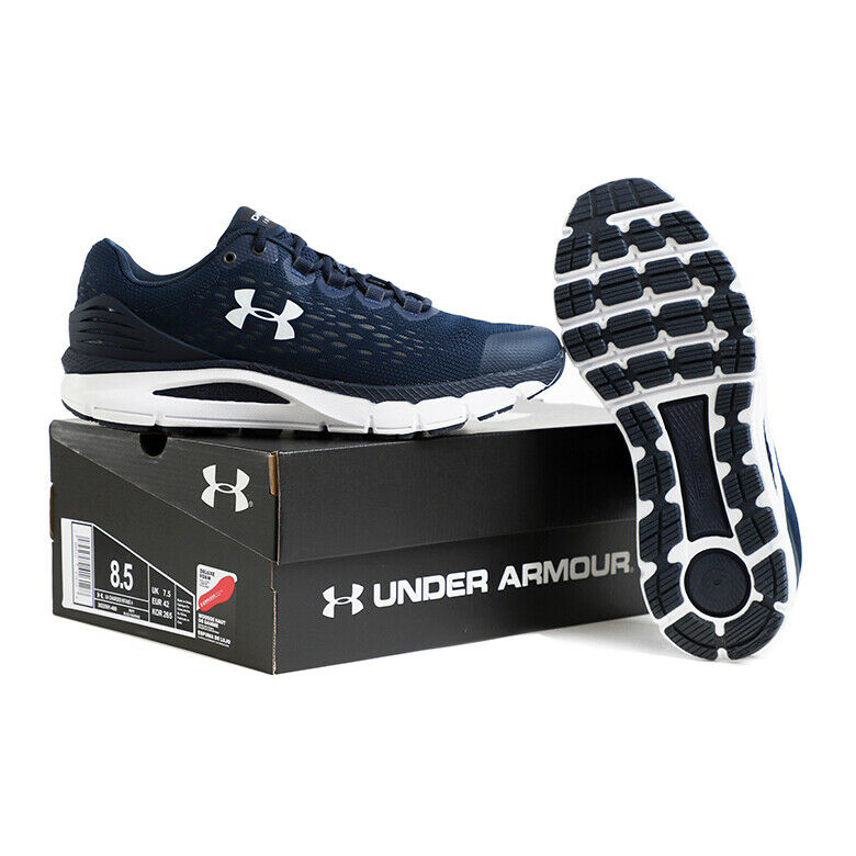 Under Armour Mens Charged Intake 4 Running Shoe