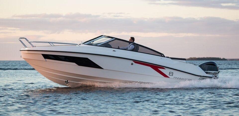 Finnmaster T8 - 300 HK Yamaha/udstyr, Motorbåd, årg. 2022