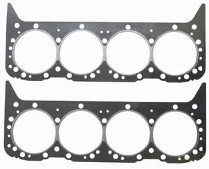 Details About Hd Stainless Graphite Cylinder Head Gaskets Set For Chevrolet Sbc 350 5 7l
