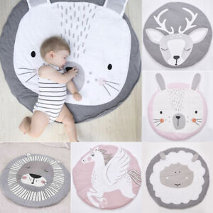 Soft-Cotton-Baby-Game-Activity-Play-Gym-Mat-Crawling-Blanket-Game-Nursery-Decor