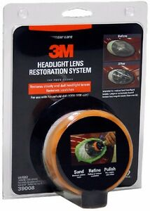 3m headlight headlamp lens restoration renovation renewal cleaning kit system ebay. Black Bedroom Furniture Sets. Home Design Ideas