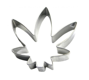 Garden Weed Plant Leaf Cookie Cutter Pastry Biscuit Cake Jelly Fondant Mould