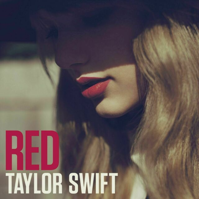 TAYLOR SWIFT  RED  DOUBLE VINYL LP NEW & SEALED
