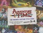 Adventure Time: The Original Cartoon Title Cards (Vol 2): The Original Cartoon Title Cards Seasons 3 & 4 by Pendleton Ward (Hardback, 2015)