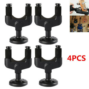 4pcs-Wall-Mount-Hanger-Stand-Holder-Hooks-For-Guitar-Acoustic-Electric-Bass