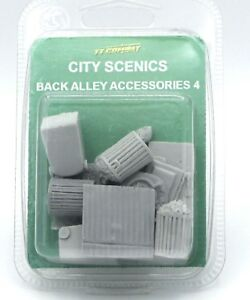 City Scenics TTCombat Back Alley Accessories