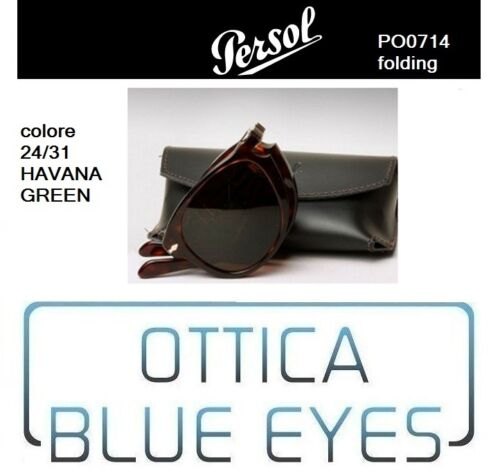 24 714 Mcqueen Occhiali Persol Po Sole Sunglasses 0714 Folding 31 Havana Da q4pSwf