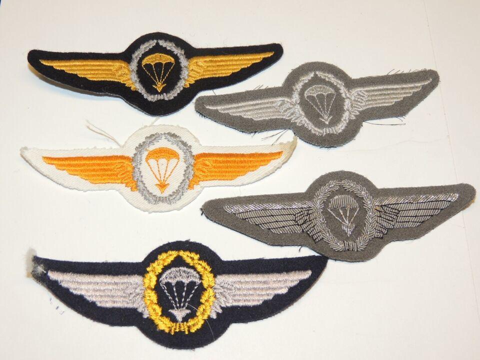 Militær, 5 TYSKE STOFVINGER