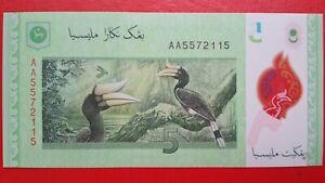 12th-Series-2012-Malaysia-Zeti-RM5-Banknote-First-Prefix-AA5572115-UNC