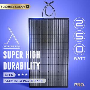 250W 12V Flexible Solar Panel Mono Battery Charging ETFE Outdoor Power