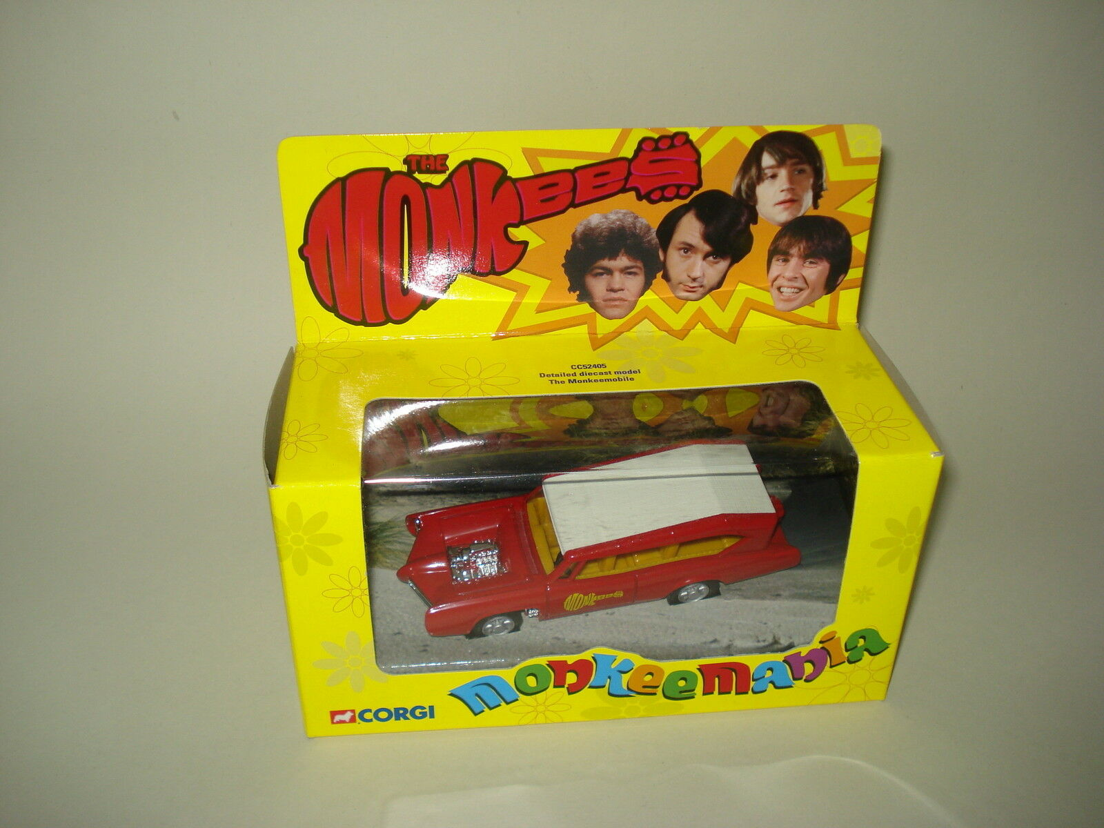 2001 CORGI CC52405 MONKEES MONKEEMOBILE CAR Diecast BOXED New