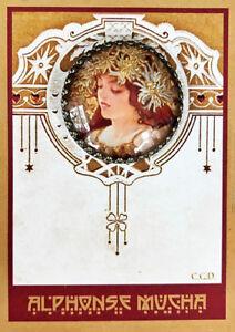 Fairies Dancing SILHOUETTE ~ Glass Dome Filigree STUDIO BUTTON 30mm~ Vintage Art