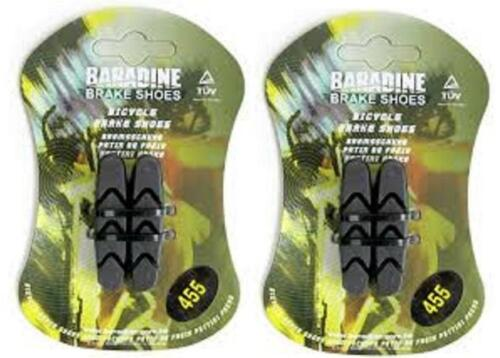 2x Pairs Baradine Campagnolo Compatible Road Brake Pad Inserts suits all /<1998