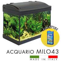 acquario 54l aquael 60*30*30 cm c/ filtro luce led riscaldatore