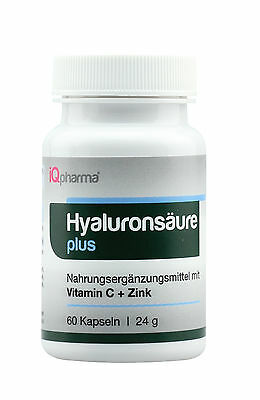 IQpharma 120 Hyaluronsäure MM Kapseln 100mg/Kps 200mg/TAG vegetarian hyaluronic