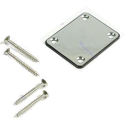 Chrome Plate W/Screw Neck For Fender Start Tele Screws